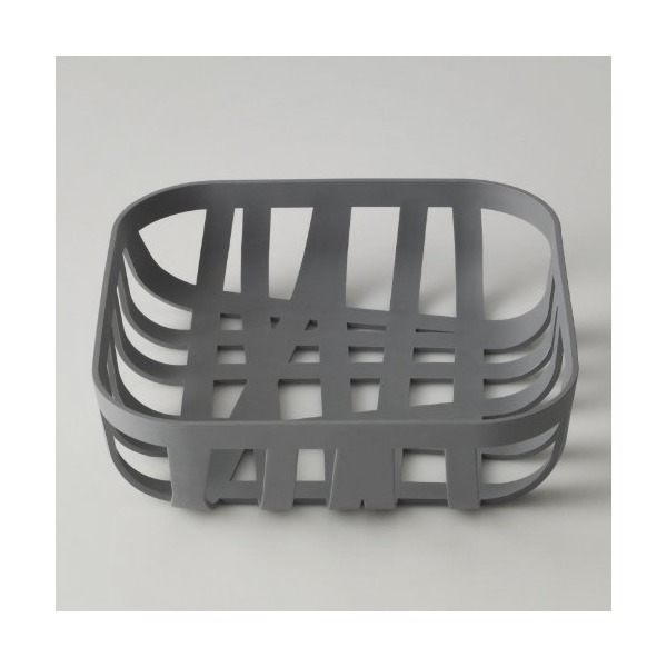 Wicker Bread Basket (Dark Grey)