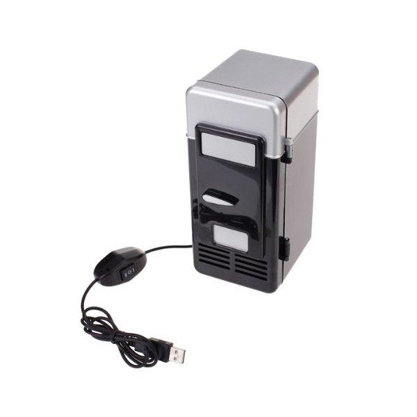 Mini PC USB Refrigerator Fridge Beverage Drink Can Cooler Warmer