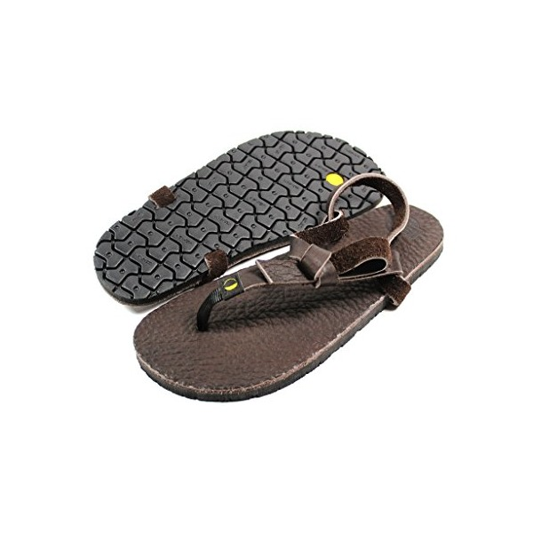 Luna Dark Chocolate Mono Sandals - Men's 7 Women's 9