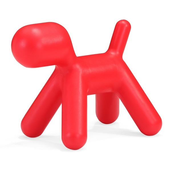 Zuo Modern Pup Chair, Red