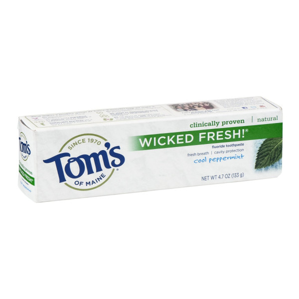 Tom's of Maine Ice Wicked Fresh Paste, Spearmint, 4.7-Ounce, 2 count