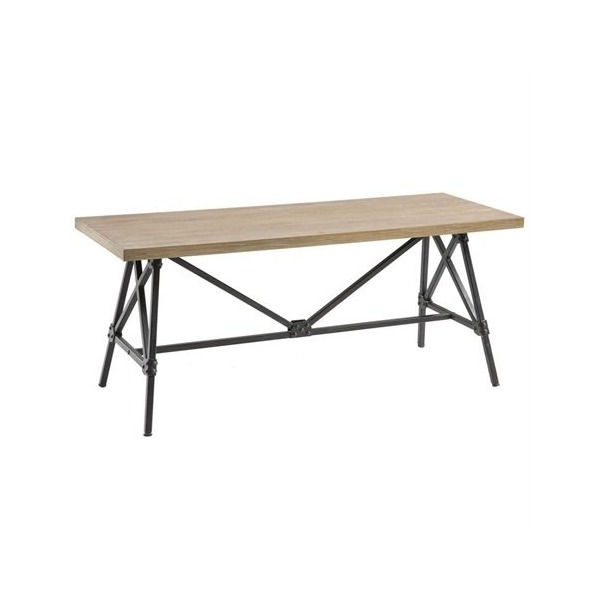 Ink+Ivy Cooper Dining Bench, Natural