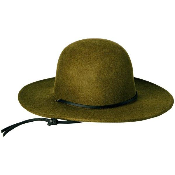 Brixton Men's Tiller Hat, Black, X-Small