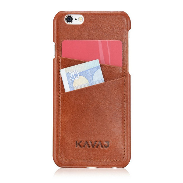 KAVAJ Tokyo Brown Leather Case for the iPhone 6