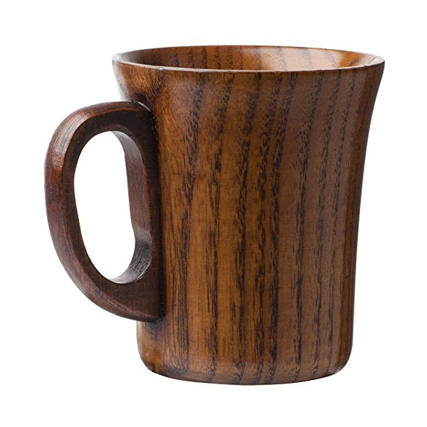 Natural Wood Wooden Mug