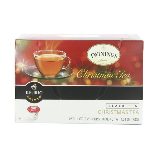 Twinings K-Cup Tea, Christmas, 12 Count