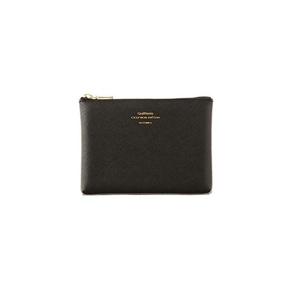 [DELFONICS] Quitterie Multifunctional pouch size S QR12 BLACK
