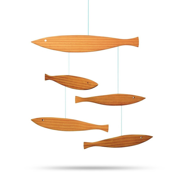 Flensted Wooden Fish Mobile