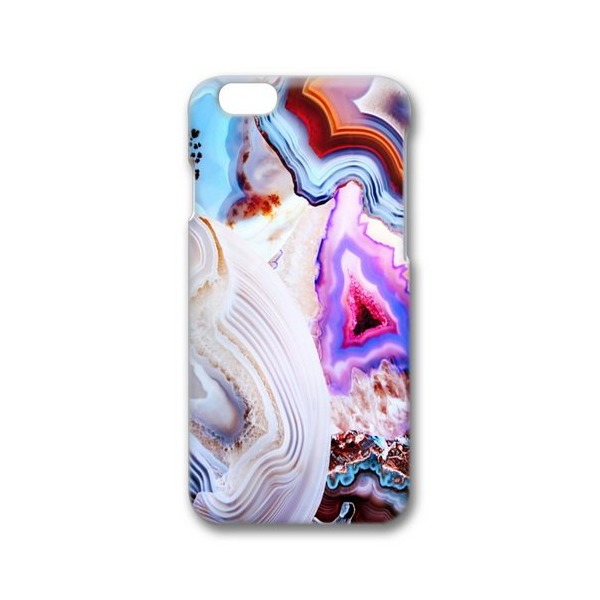 Society6 Agate, A Vivid Metamorphic Rock On Fire. iPhone 6 Tough Case
