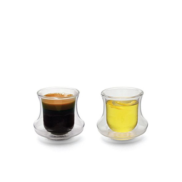 CICLONE Double-Walled Demitasse - Set of 2