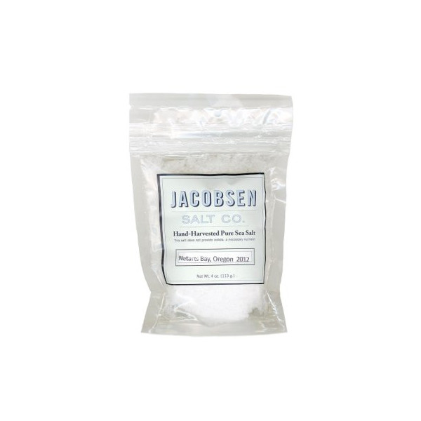 Hand-Harvested Pure Sea Salt: Jacobsen Salt Co