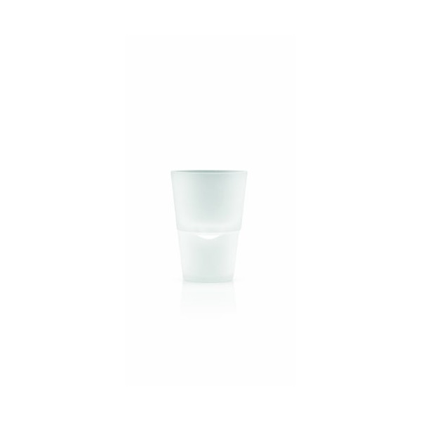 Eva Solo Self-Watering Herb Pot, 11 cm Diameter, Frosted Glass
