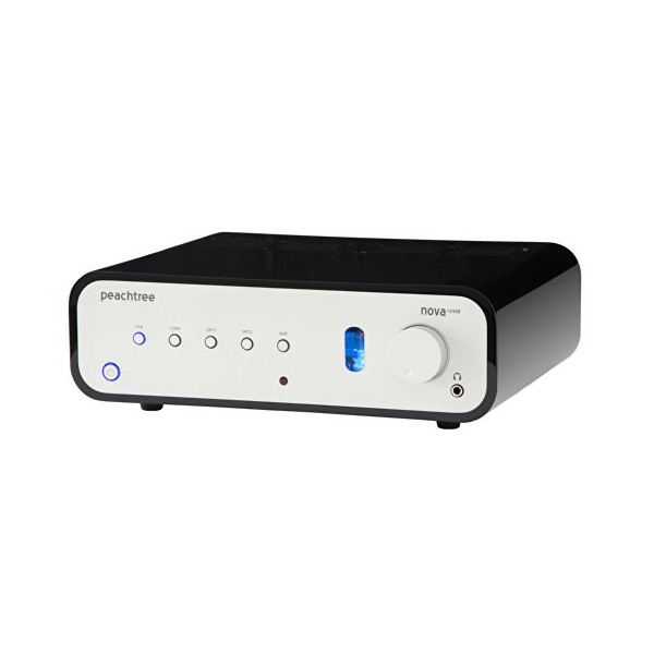 Peachtree Audio nova125 SE Integrated Amplifier with Built-in DAC (High Gloss Black)