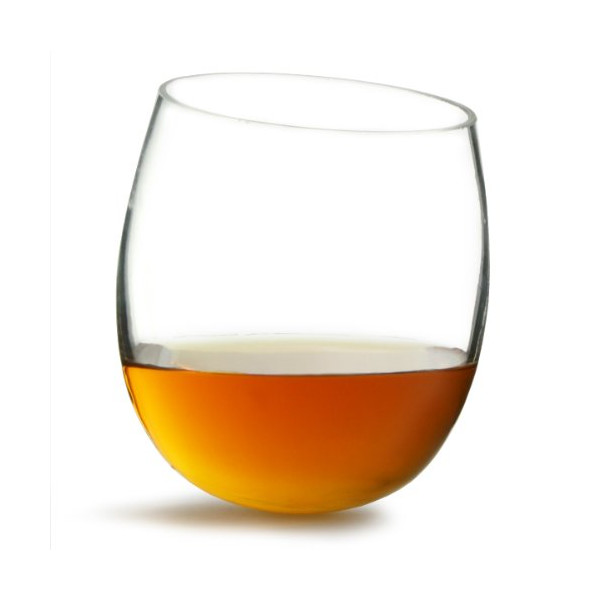 Whisky Rocker Glasses 10.5oz / 300ml by bar@drinkstuff - Pack of 2 | Whiskey Tumblers, Rocking Whisky Glasses, Rolling Whisky Glasses