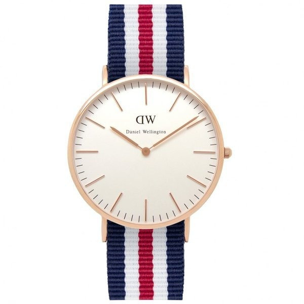 Daniel Wellington Classic Canterbury with Rose Gold Ring