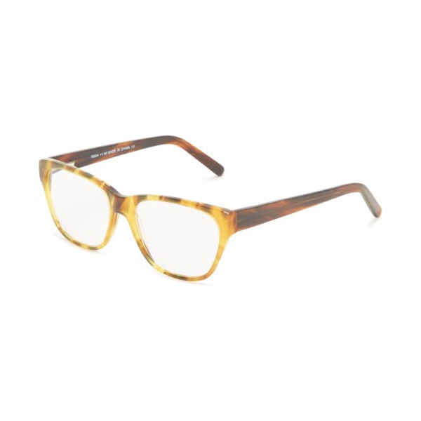A.J. Morgan Primary 78024 Wayfarer Reading Glasses,Brown,52 mm