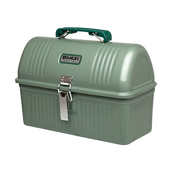 Stanley Classic Lunch Box, Hammer Tone Green, 5-Quart