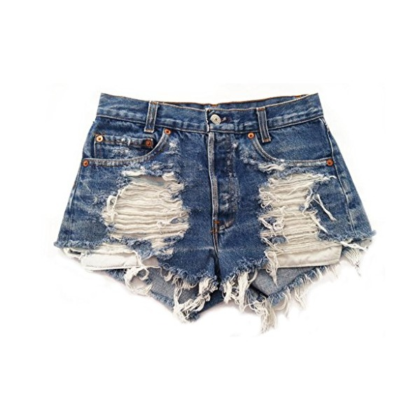 Women's Wrangler's Distressed Stone Dreamer High Rise Trendy Cut-Off Shorts-L