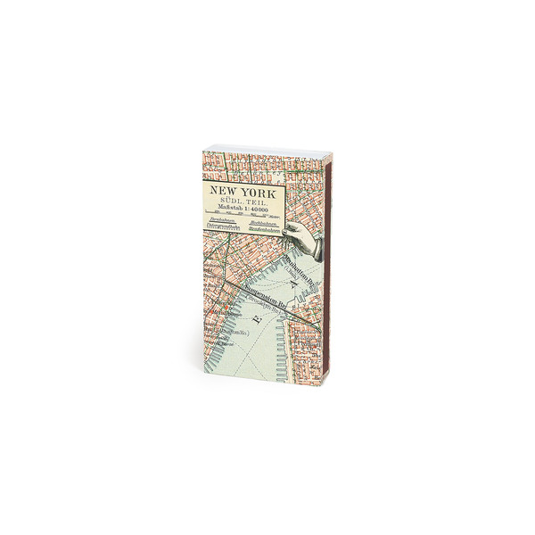 HomArt New York Map Matches, Set of 3