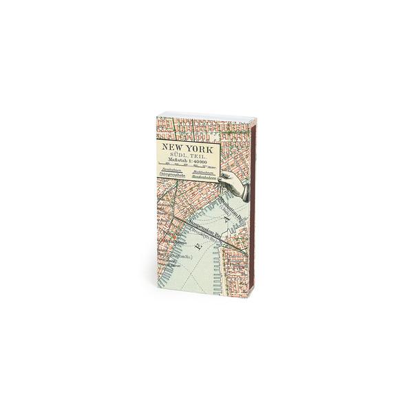 HomArt New York Map Matches, Set of 3