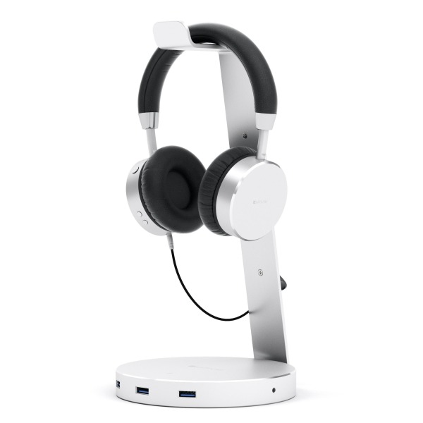 Satechi Aluminium USB Headphone Stand Holder