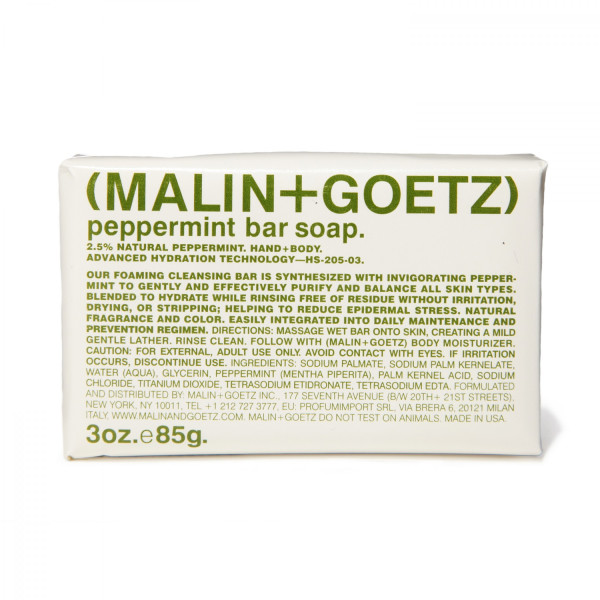 Malin + Goetz Peppermint Bar Soap, 3 oz.