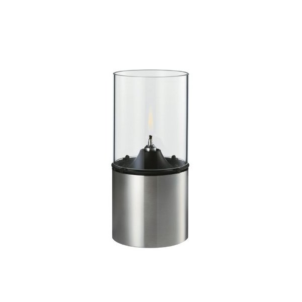Stelton 1005 Classic Oil Lamp Stainless and Clear Glass