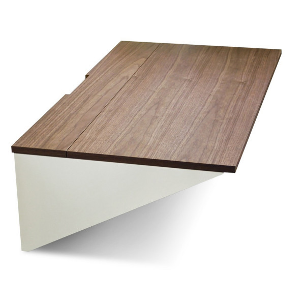 Blu Dot Wonder Wall Desk, Walnut