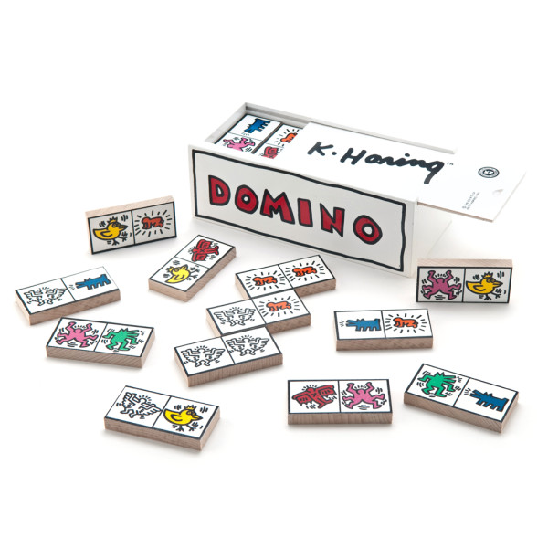 Keith Haring Dominoes Set