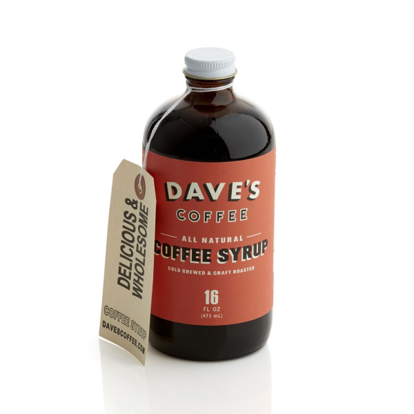 Crate and Barrel Dave's Original Cold Brew Coffee Syrup