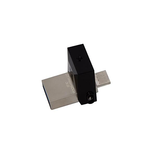 Kingston Digital 64GB Data Traveler Micro Duo USB 3.0 Micro USB OTG (DTDUO3/64GB)