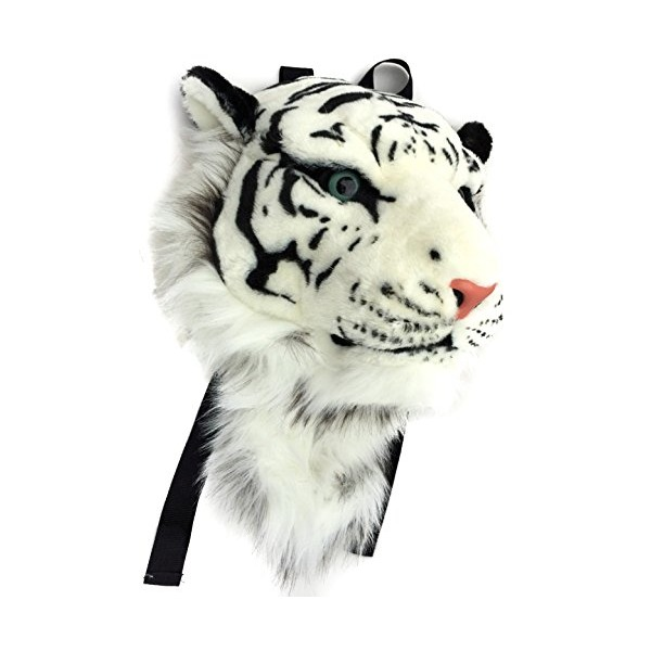 VIAHART Authentic Tigerdome White Siberian Tiger Backpack and Wall Mount