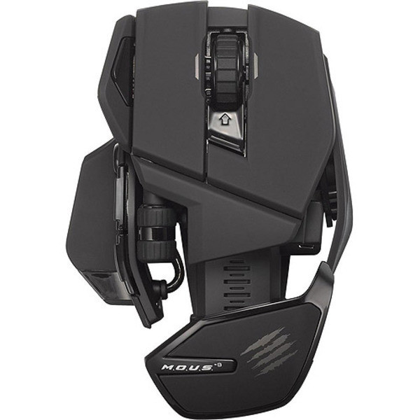 Mad Catz M.O.U.S. 9 Wireless Mouse for PC & Mac