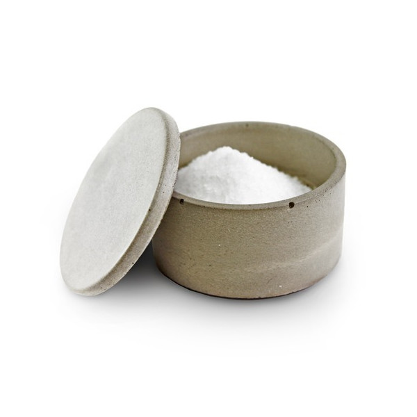 Culinarium - Small Concrete Salt Cellar, Gray