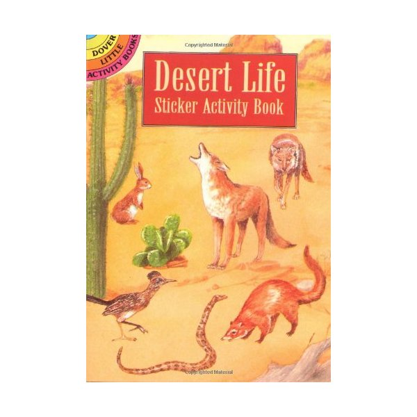 Desert Life Sticker Activity Book (Dover Little Activity Books Stickers)