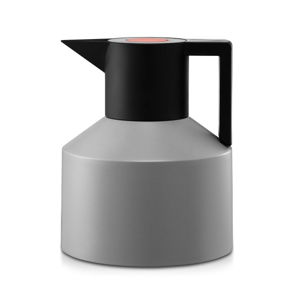 Geo Thermo Pot Normann Thermo Vacuum Flask, Black