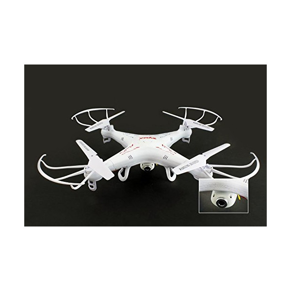 Syma X5C 4 Channel 2.4GHz RC Explorers Quad Copter w/ Camera (WHITE, 1)
