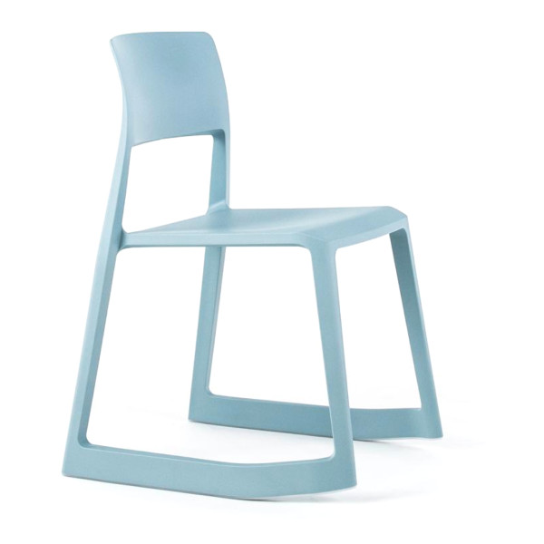 vitra tip ton stacking chair ice grey on amazon. Black Bedroom Furniture Sets. Home Design Ideas