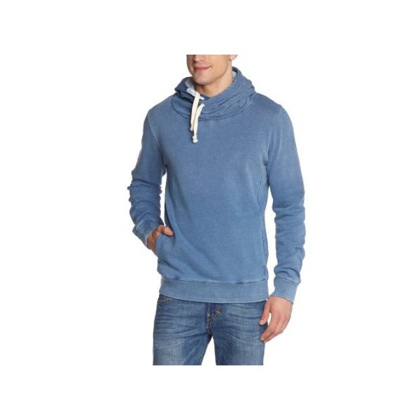 Scotch & Soda Men's Twisted Neck Fleece Hoodie