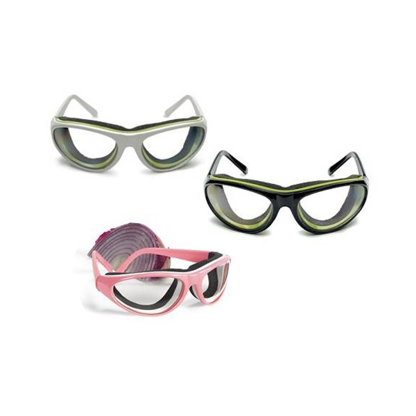 RSVP Endurance Pro-Style Onion Goggles, Red