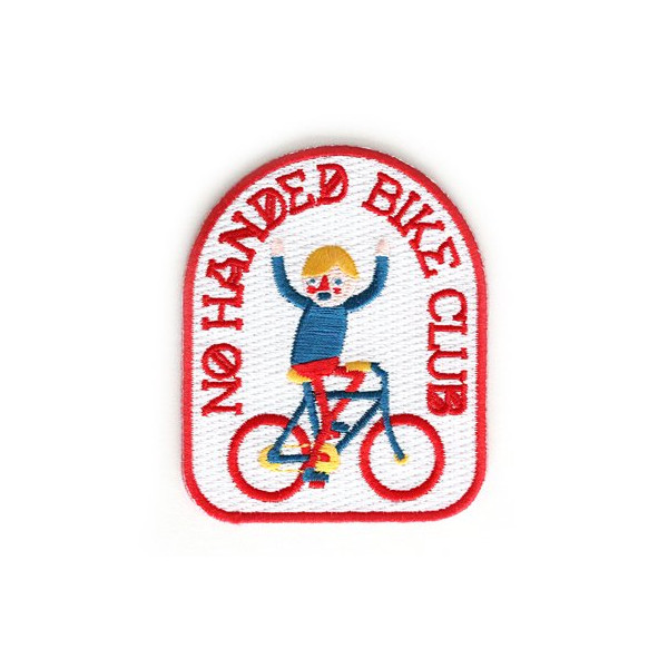 Patch, No Handed Bike Club