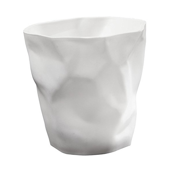 LexMod Lava Pencil Holder, White