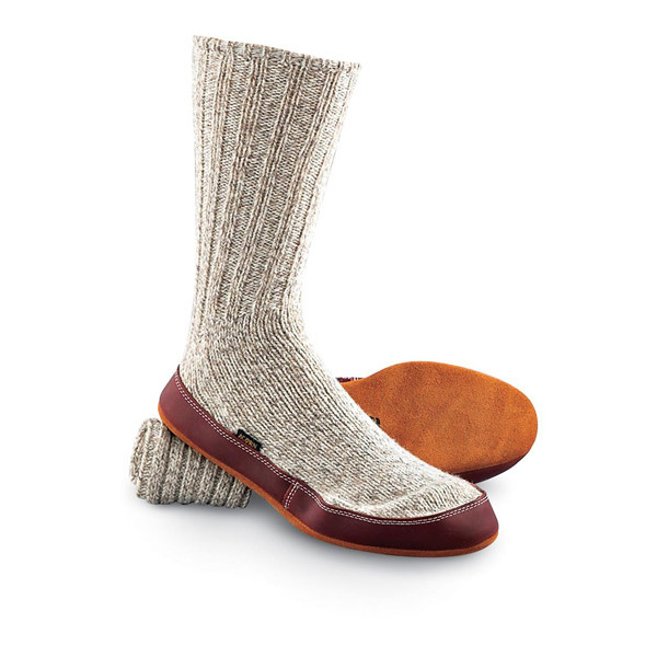 Acorn Slipper Sock