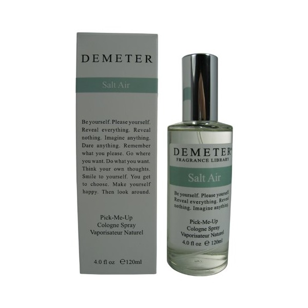 Salt Air By Demeter For Women. Pick-me Up Cologne Spray 4.0 Oz