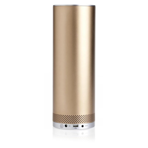 Stelle Audio Pillar Portable Bluetooth Speaker (Metallic Bronze)