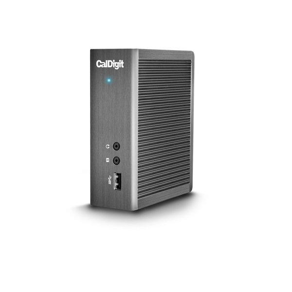 CalDigit Thunderbolt Station 2 eSATA 6G, 4K, USB 3.0, HDMI and Ethernet Ports (TS2-US-60)
