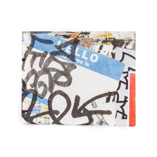 Dynomighty Tyvek Wallet, Multi Graffiti