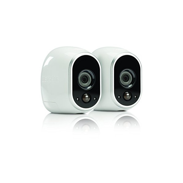 Arlo Smart Home Security Camera System - 2 HD, 100% Wire-Free, Indoor/Outdoor Cameras with Night Vision (VMS3230) by NETGEAR