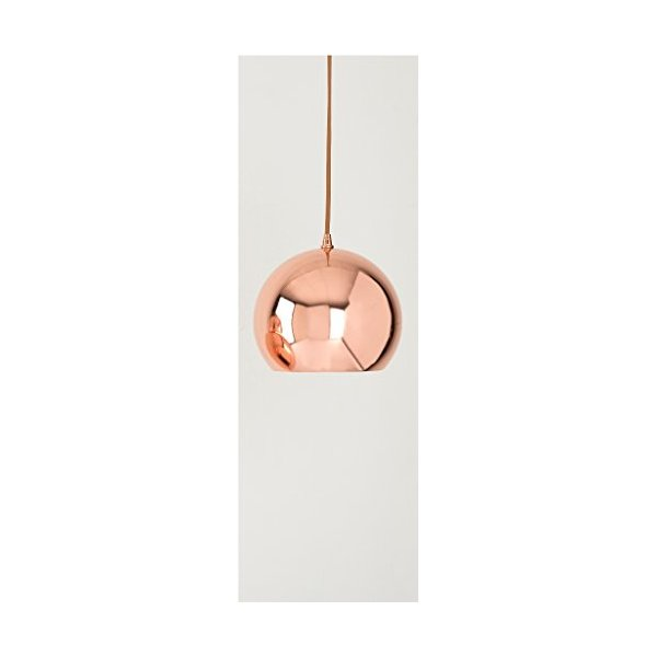 SHIRALEAH SMALL HAMILTON COPPER PENDANT