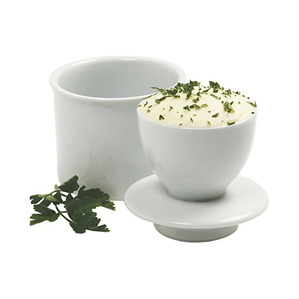 Norpro 291A White Butter Keeper, Porcelain